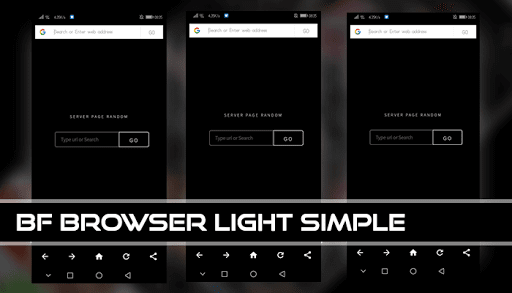 BF Browser Light Simple 2.0 Screenshots 2