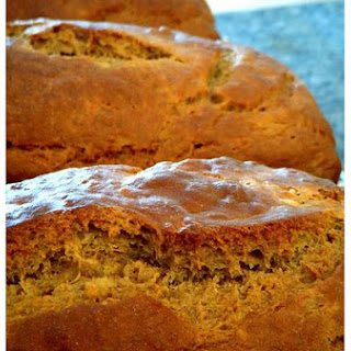 Bananas and Cream Bread
