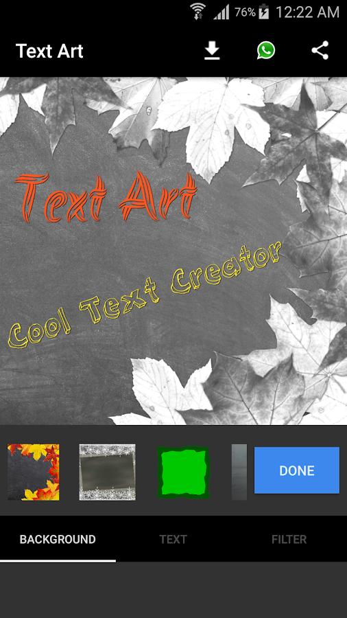 Text Art Creator