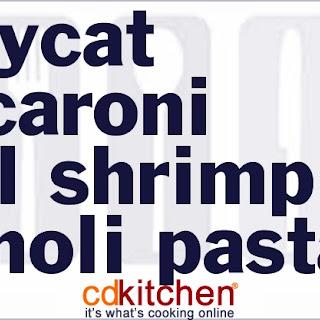 Macaroni Grill Shrimp Pignoli Pasta