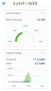 SunPower Customer Portal- screenshot thumbnail