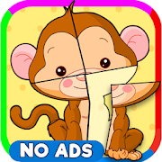 Children Puzzle for Kids Pets PRO: Box 2D & Slices