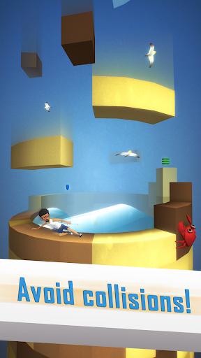 Tetrun: Parkour Mania - free running game  captures d'écran 2