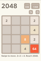 screenshot of 2048 (Ads Free)