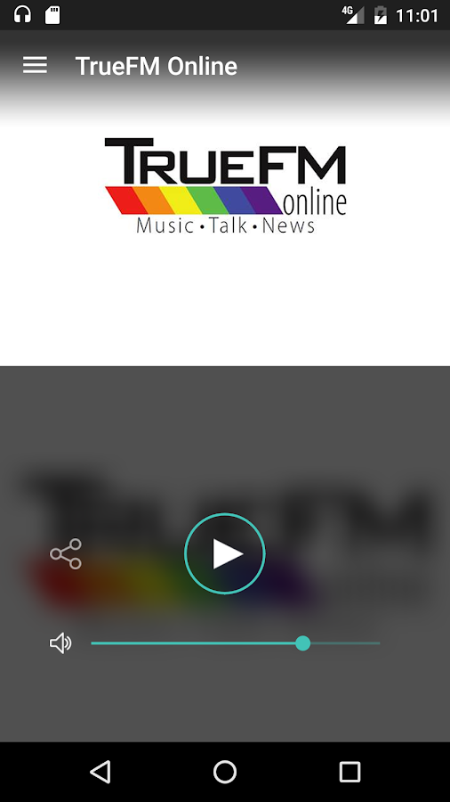 TrueFM Online- screenshot
