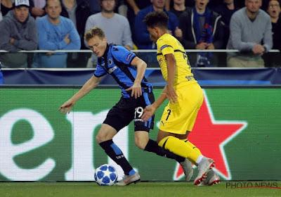 Thibault Vlietinck (21 ans) a répondu présent en Ligue des champions avec Bruges