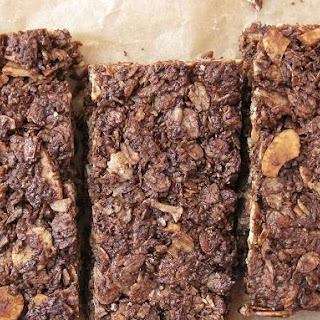 Chewy Chocolate Coconut & Almond Granola Bars