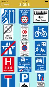 Highway Code 2016 screenshot 2