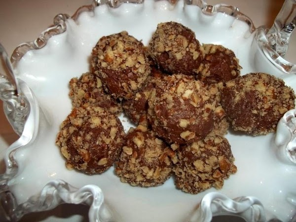 ~ Pecan Choco - Fudge Mint Balls Recipe