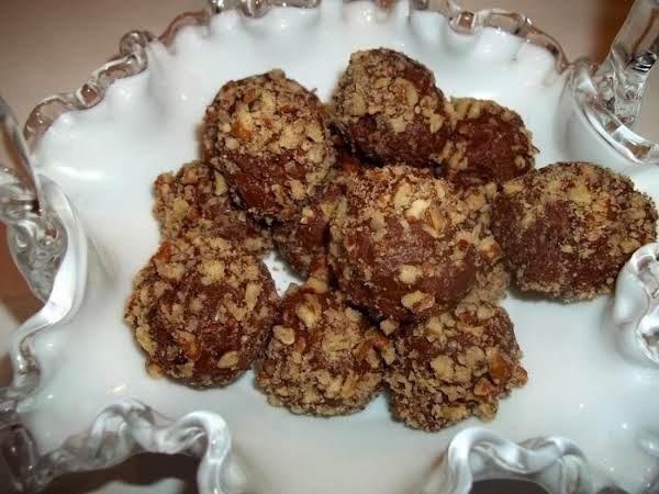 ~ Pecan Choco - Fudge Mint Balls Recipe