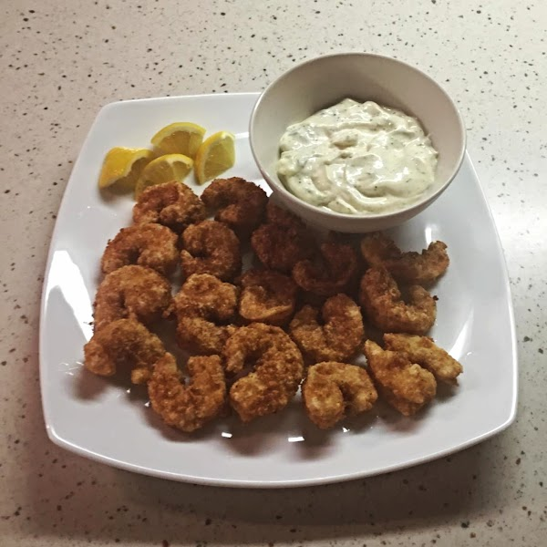 Sam's Panko Crusted Fried Shrimp With Tartar Sauce Recipe