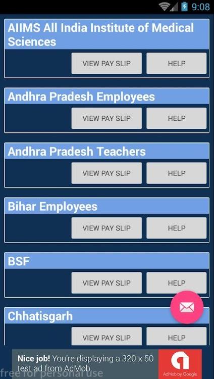 Payslip Salaryslip Online Indian Govt Employees – (Android