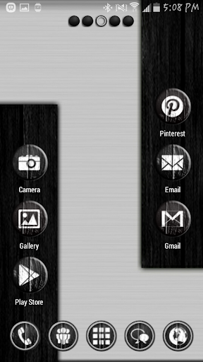 Dark Wood Theme
