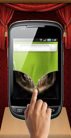 Skull Zip Screen Lock 1.0 screenshot 253520