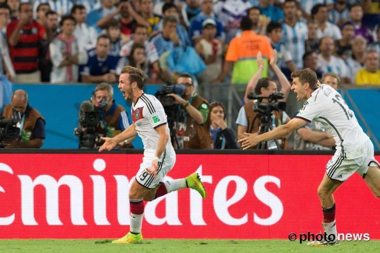 📷 Les Allemands ont voulu rappeler un mauvais souvenir aux Argentins