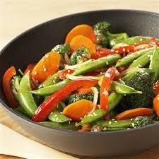 Stir Fry Garden Vegetable
