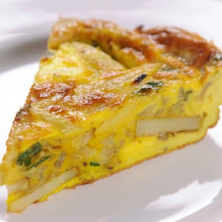 Microwave Oven-Baked Breakfast Frittata Recipe