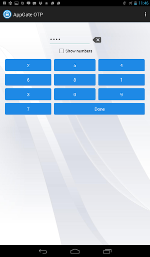 AppGate OTP Module for PC