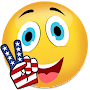 Smileys for whatsapp stickers usa independence day