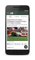 Screenshot of The42.ie Sports News