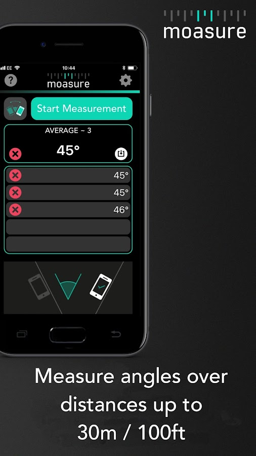 measure distance with iphone moasure the smart measure android apps on play 5709