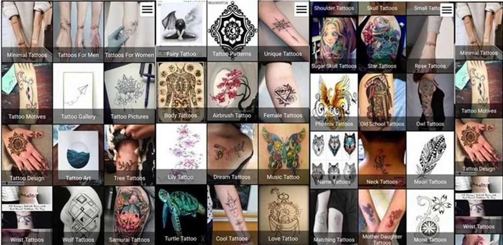 +3500 Tattoo Designs: Best Tattoo Design Apps For Android