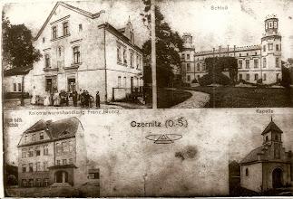Photo: Stara pocztówka z Czernicy.