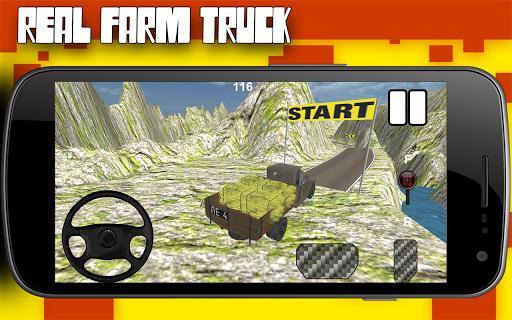 Farm Hay: Truck Race