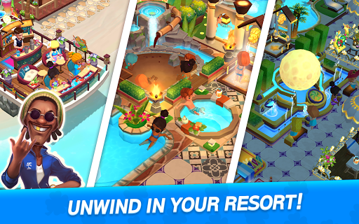 My Little Paradise : Resort Management Game android2mod screenshots 14