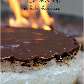 S'mores No Bake Cheesecake