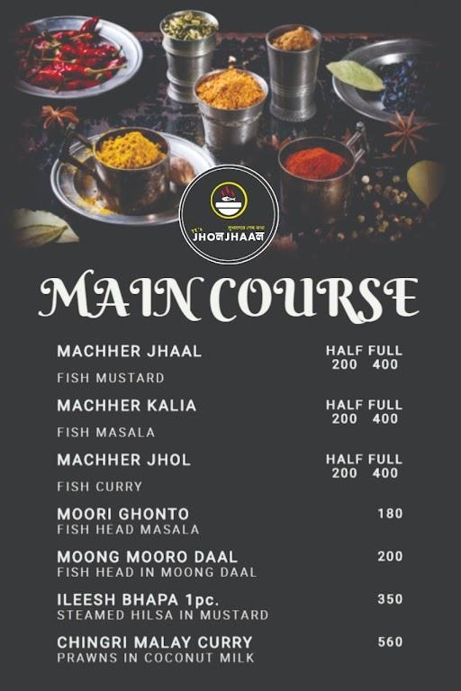 TT's Jhol Jhaal menu 4