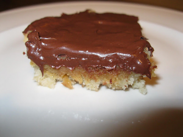 Chewy Chocolate-peanut Butter Bars Recipe