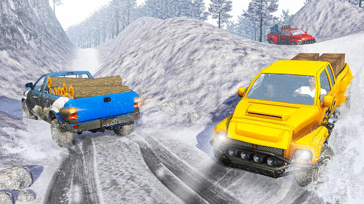 Snow Truck Simulator: Off Road Monster Truck Games android2mod screenshots 1