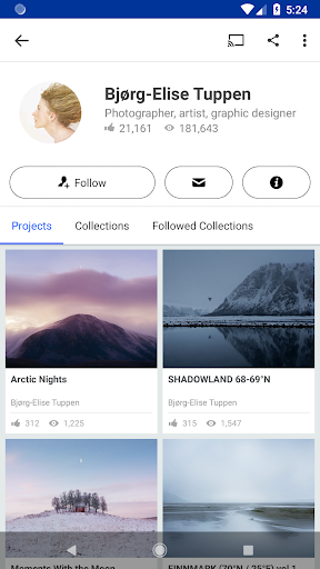 Behance 6.2.3 Apk for Android 4