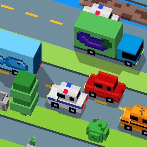 Hoppy Cross Road Cross Arcade (game)