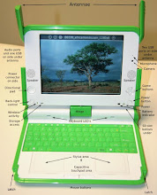 Photo: The winning proposal of for the OLPC challenge.