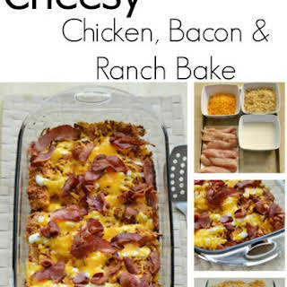 Cheesy Chicken, Bacon and Ranch Dressing Recipe #FoodDeservesDelicious.