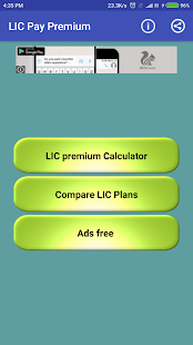 Pay Policy Premium for LIC - náhled