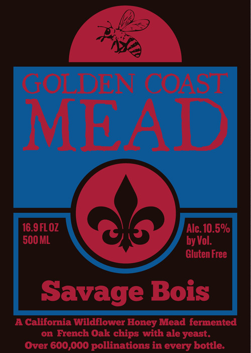 Logo of Golden Coast Mead Savage Bois