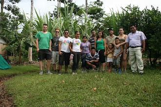 Photo: ...mit Kollegen und Freunden aus Costa Rica, Deutschland, Frankreich und Panama