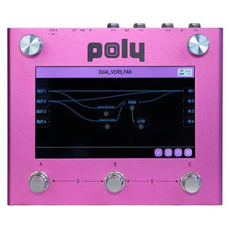 Poly Effects Beebo Multi Modulation Pink