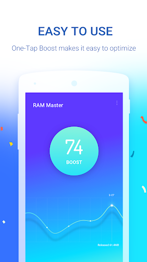 RAM Master - Memory Optimizer  screenshots 1