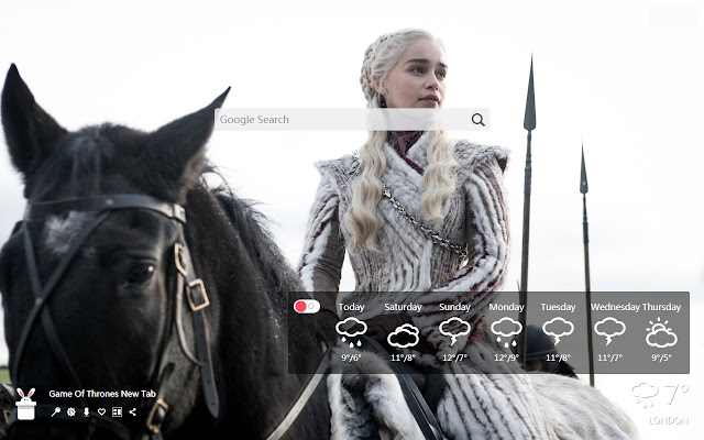 Game Of Thrones New Tab, Wallpapers HD