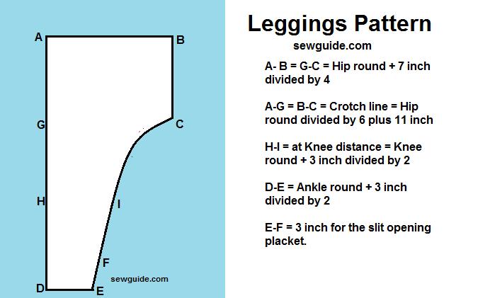 patrón de polainas