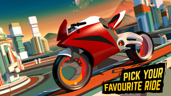 Gravity Rider: Space Bike Racing Game Online for PC-Windows 7,8,10 and Mac apk screenshot 1