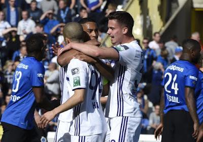 Anderlecht : un déplacement cauchemardesque pour les Brugeois