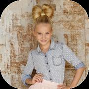 عالم الفتاة: ملابس وتسريحات الشعر APK