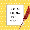 Social Media Post Maker, Planner, Graphic Design icon