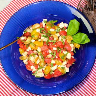 Tomato-Watermelon-St. Andre Salad