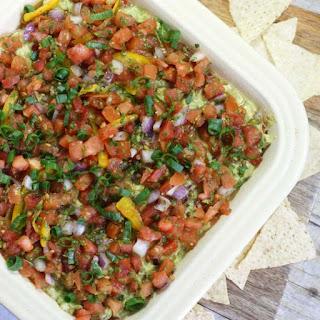 Healthy Mexican Layer Dip (Vegan)
